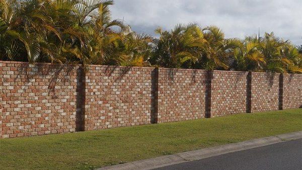 Các mẫu hàng rào xây gạch đẹp phù hợp cho mọi nhà