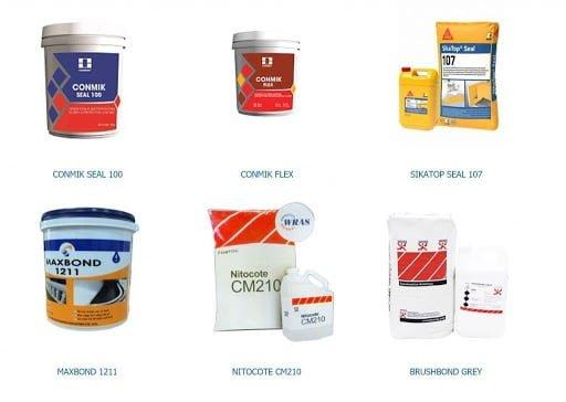 Vật liệu chống thấm và phương pháp chống thấm hiệu quả