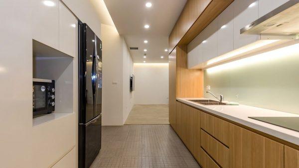 Thiết kế căn hộ 70m2 3 phòng ngủ đầy đủ công năng