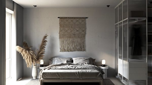 Trang trí phòng ngủ tối giản hiệu quả cho nhà chung cư