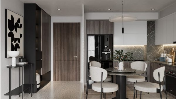 28 mẫu phòng ăn đẹp, hiện đại cho chung cư nhỏ
