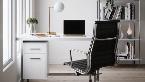 Mẫu thiết kế phòng làm việc đẹp tại nhà HOT TREND 2021