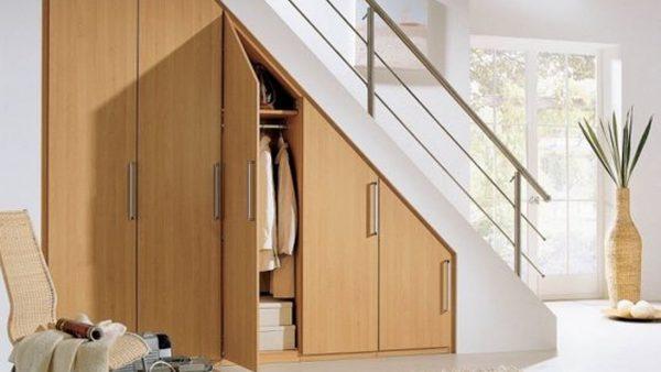 7 cách tận dụng gầm cầu thang làm tủ giúp tăng không gian ngôi nhà